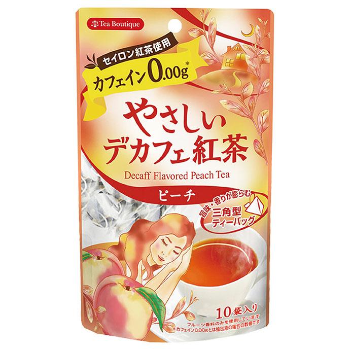 やさしいデカフェ紅茶 ピーチ