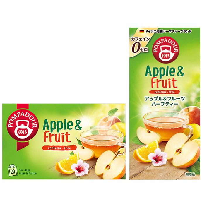 ポンパドール アップル&フルーツ
