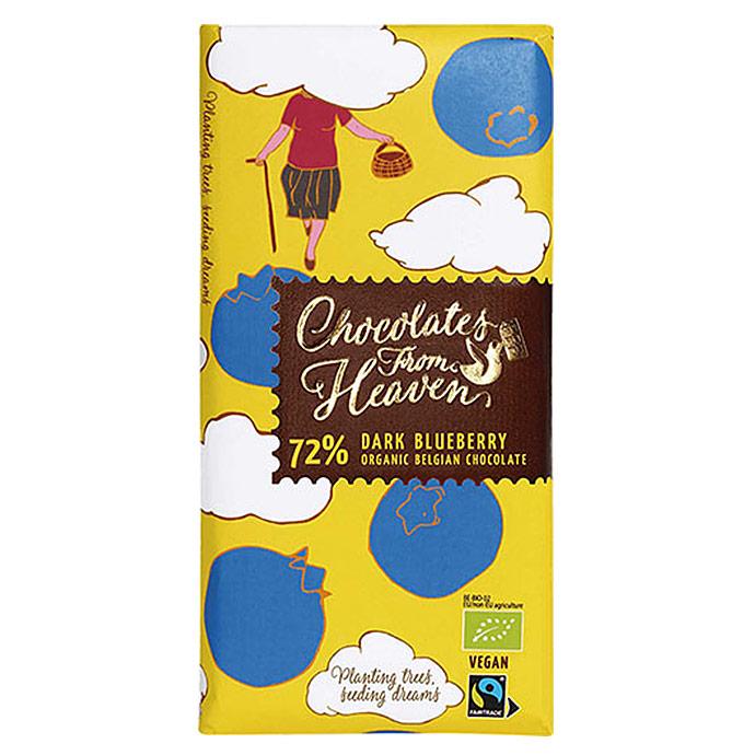 チョコレート フロム ヘブン 72%ダークブルーベリー