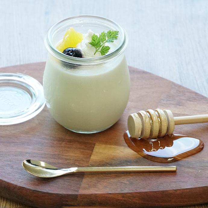 ポンパドール カモミールハニーのレシピ ミルクプリン
