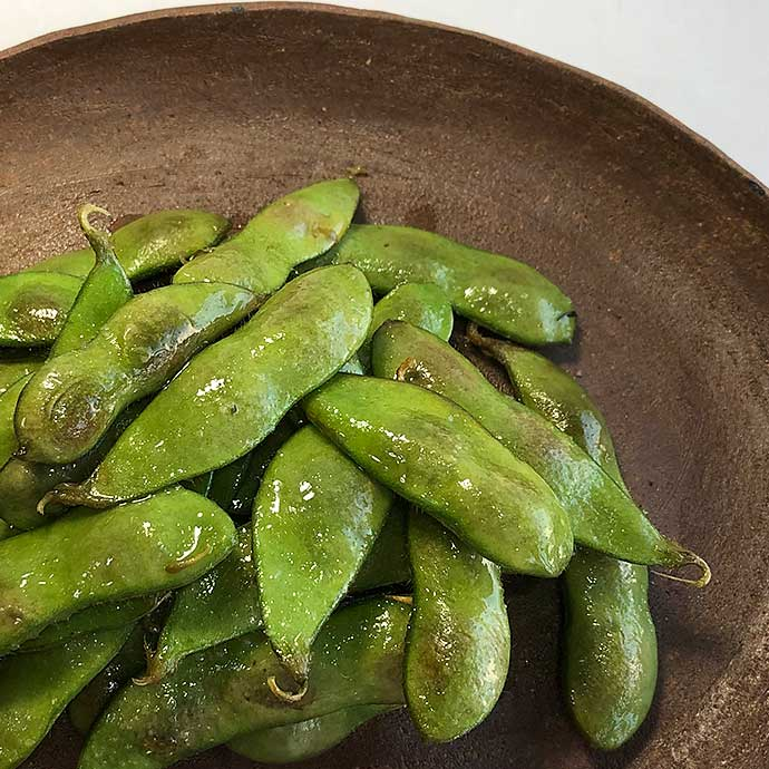 クレイジーソルトのレシピ クレイジー焼き枝豆
